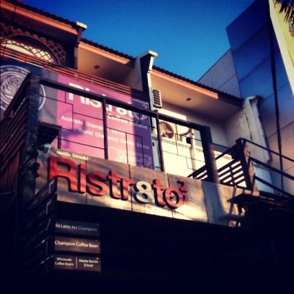 Ristr8to's shop front