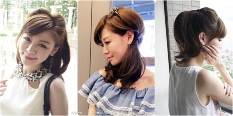 兩條髮圈的超簡單三種百搭實用髮型
