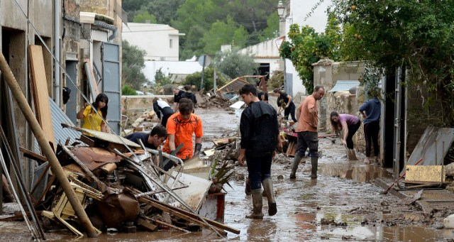 SPAIN-WEATHER-FLOOD