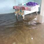 Tonalá inundada luego de intensas lluvias