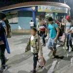 2000 integrantes de la nueva caravana migrante cerca de la frontera Mexicana