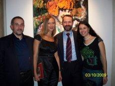 Con Giacomo Maria Prati e Ludmilla Radchenko a Palazzo Guidobono, Tortona