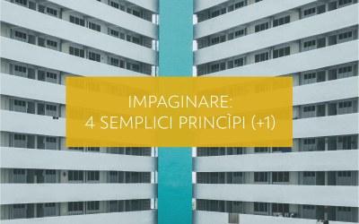 Impaginare: 4 semplici princìpi + 1