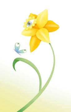 Narciso e la farfalla, digitale