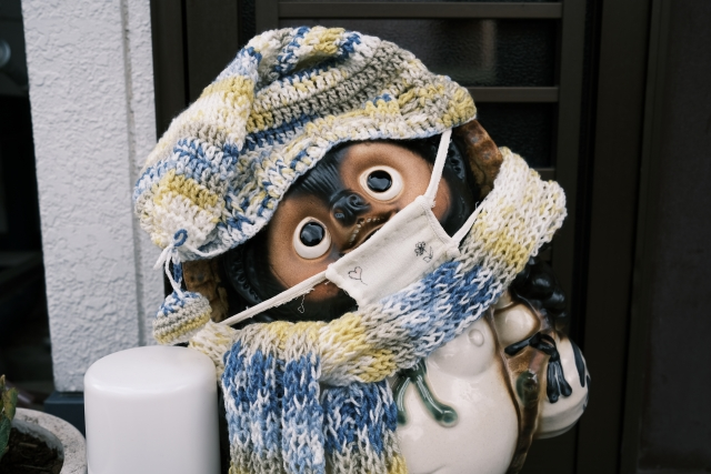 冬 マスク
