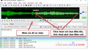 Hướng dẫn sử dụng Aegisub làm phụ đề Video và Lyric Karaoke Effects