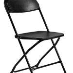 Black Plastic Folding Chair Poly Chair