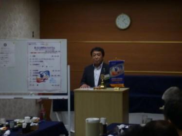 田中前青少年奉仕委員長事業報告