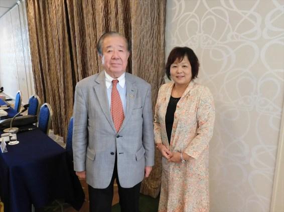 青木ガバナーと土橋会長