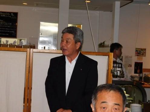 幹事報告 秋葉健夫幹事