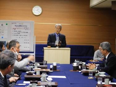 森茂樹会員(3/27~3/31済州RC訪問にあたり、会員歴の浅い会員へ姉妹クラブ提携までの経緯や今後について話していただく)