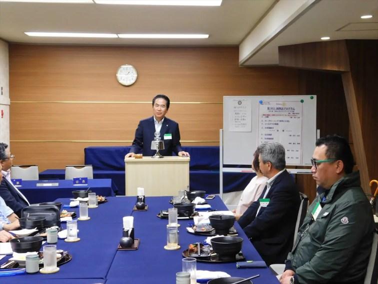 松﨑次年度職業奉仕委員長より来期の活動方針について