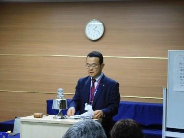 岩村次年度社会奉仕委員長より来期の活動方針について