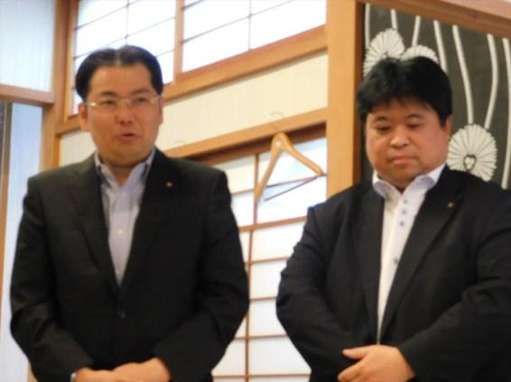千葉港RC 鈴木会長、長澤幹事