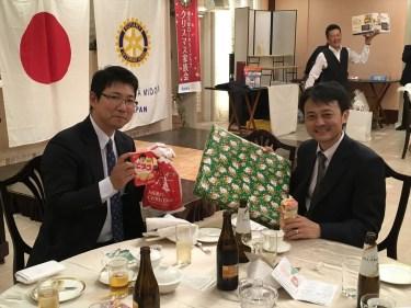横浜緑RC『クリスマス家族会』に参加