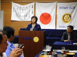 委員会報告 土橋次年度親睦委員長より 横浜緑RCとの合同ゴルフ日程調整について、次年度親睦事業について