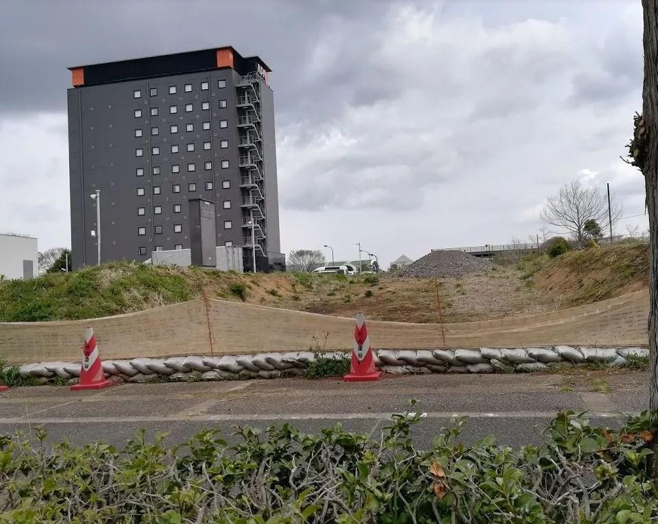 アパホテルさん、増築するのかな。