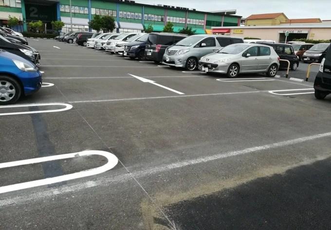 前までバスの駐車場でした@BigHop01。