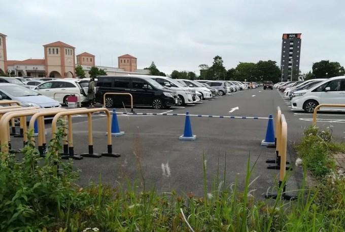 前までバスの駐車場でした@BigHop03。