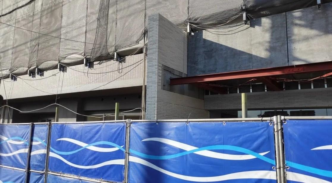 西白井駅前にて建設中のマンション、「メイツ西白井」。04