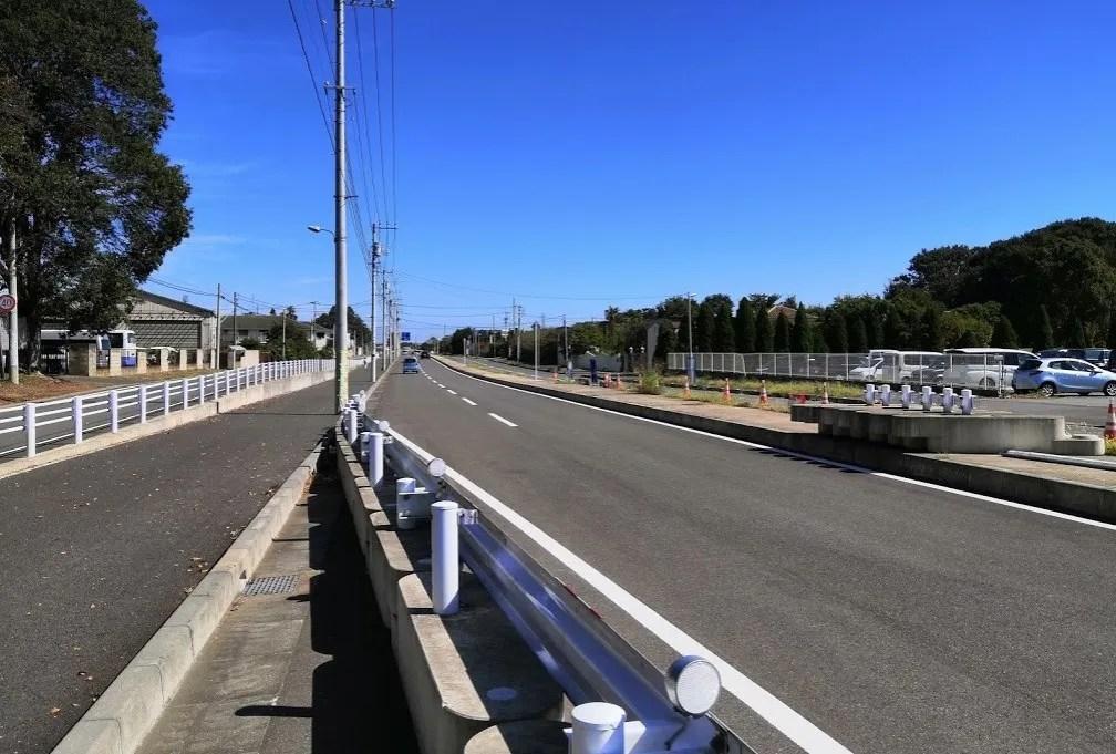 2019年10月の千葉ニュータウン北環状線桜台付近、09