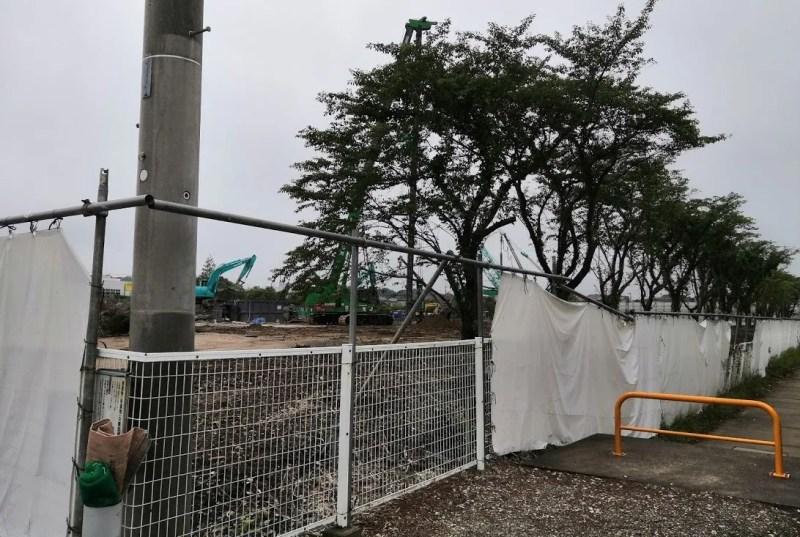 木下のデキシー工場跡地の様子、202006_03
