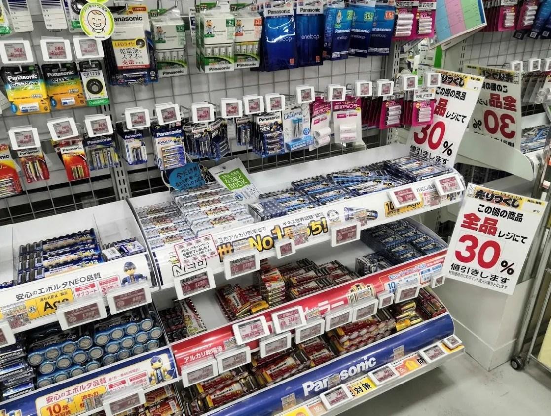 千葉ニューイオン「ノジマ」さんの改装前セール写真。10
