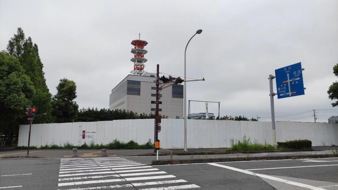「トライアル」千葉ニュータウン店の解体状況、202107。01
