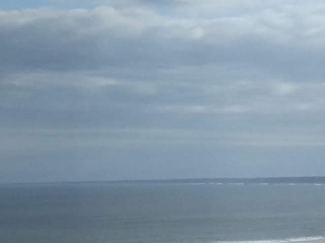 鹿島灘遠景