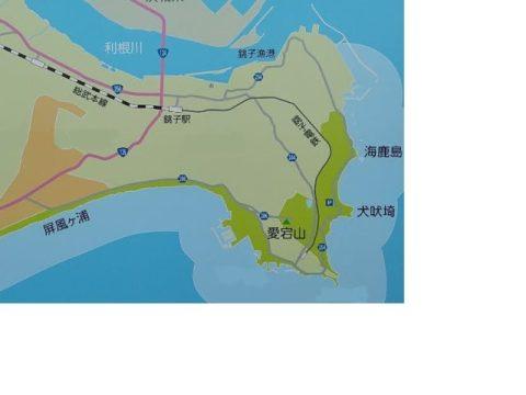 千葉県銚子市地図02