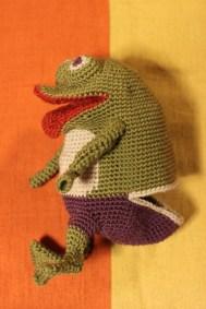 Marionnette de Grenouille