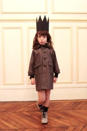 Manteau de Printemps - Chocolat