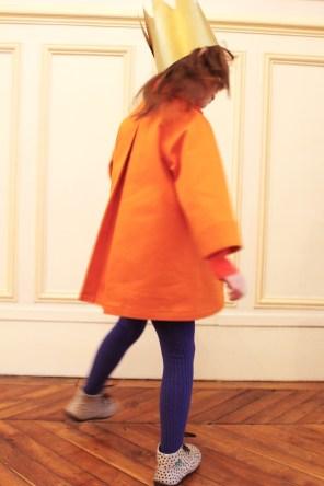 Manteau de Printemps - Mandarine