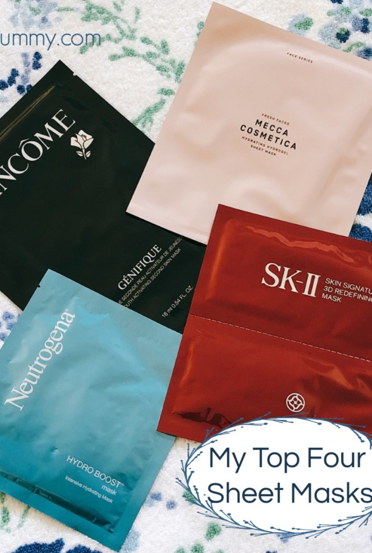 Top Four Sheet Masks