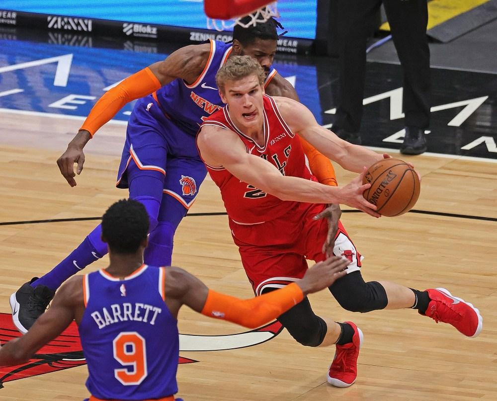Markkanen, LaVine Lead Way As Bulls Beat Knicks - NY Press News