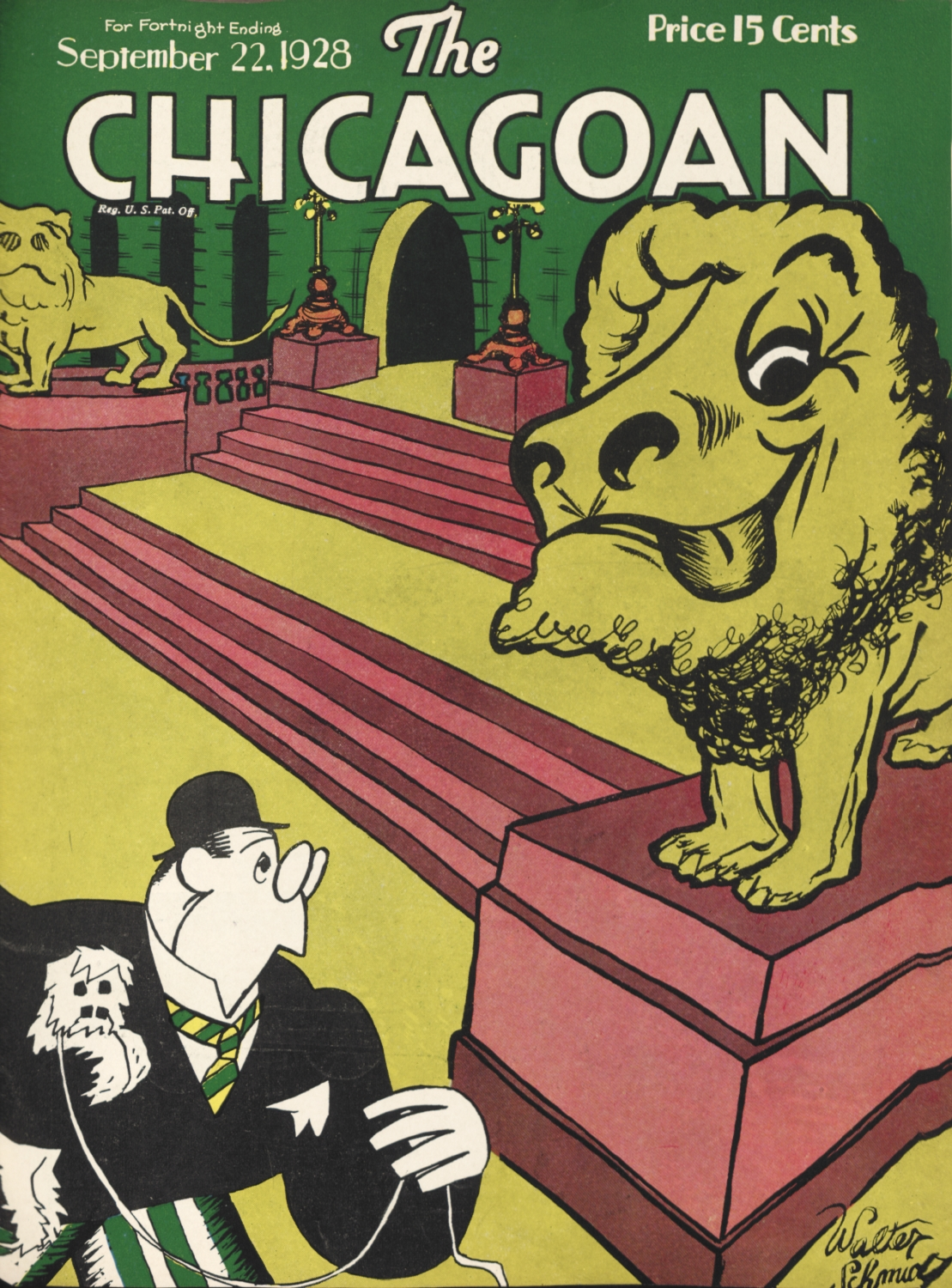 New Yorker Cover 1930s