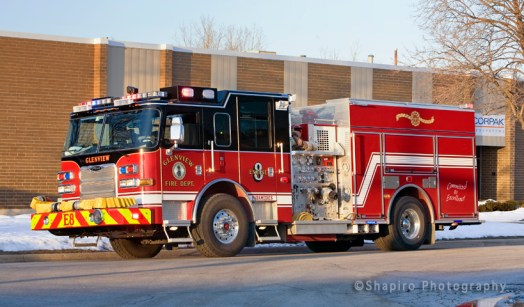 Glenview Fire Department Pierce Arrow XT Engine 8