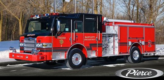 Bartlett FPD Pierce Velocity pumper