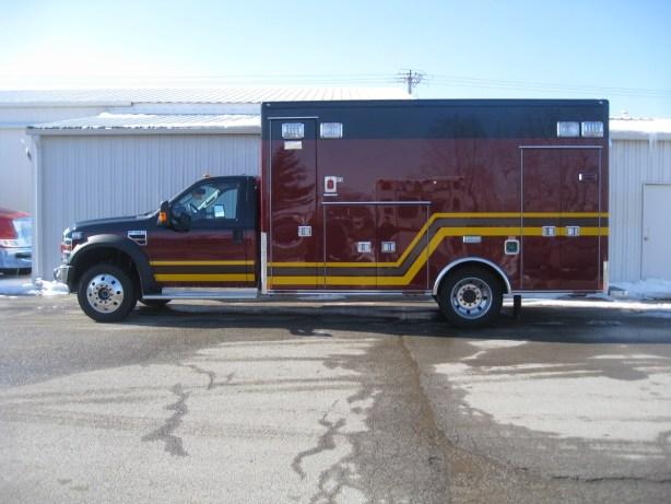 Troy FPD Medtec ambulance