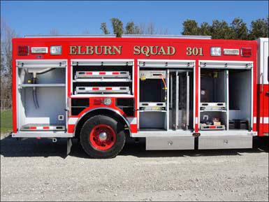 Elburn FPD Spartan Alexis squad