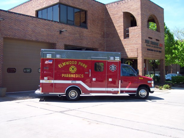 Elmwood Park Medtec ambulance