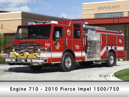 Bedford Park Engine 710 2010 Pierce Impel