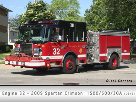 Chicago Fire Department engine 32