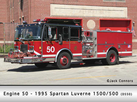 Chicago Fire Department engine 50