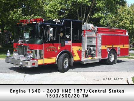 Flossmoor Engine 1340 HME Central States