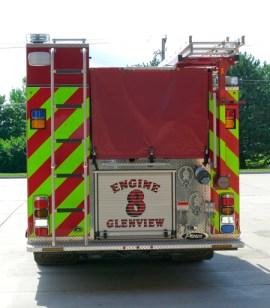 Glenview Engine 8 rear chevron