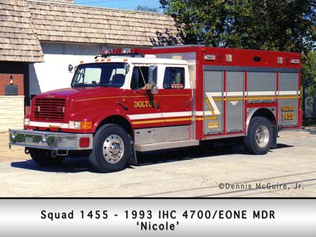 Dolton Fire Department IHC E-ONE rescue
