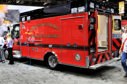 Algonquin Lake-in-the-Hills Medtec ambulance