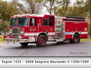 Beach Park Fire Protection District Seagrave Maurauder II engine