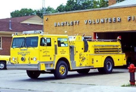 Bartlett FPD Hendrickson Howe engine
